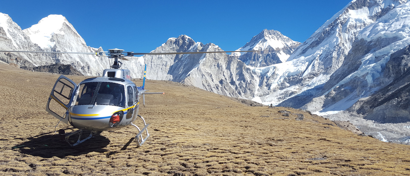 Everest View Helicopter Tour  Fly Over Mt Everest Via Heli Tour