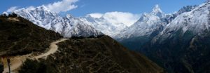 One of the views in 14 Days Everest Base Camp Trek