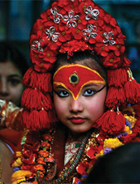 Living Kumari cult
