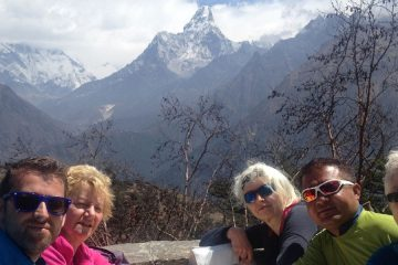 Everest View Family Trek
