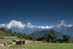 Annapurna Hilmalayan views from Australian Camp