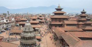 Dominant medieval Architecture of Kathmandu Durbar square