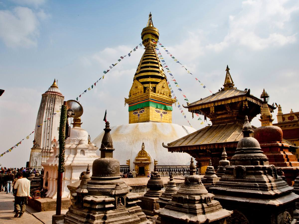 MonkeyTemple, Pashupatinath and Boudhanath Tour.
