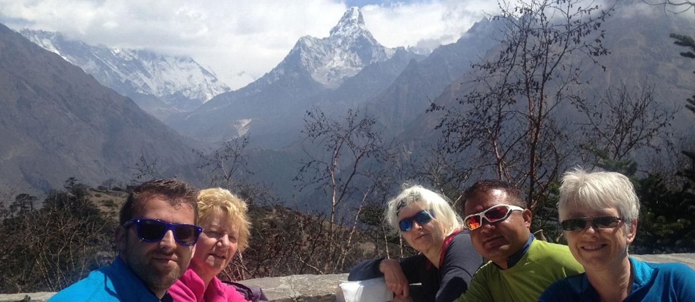 Everest View Family Trek